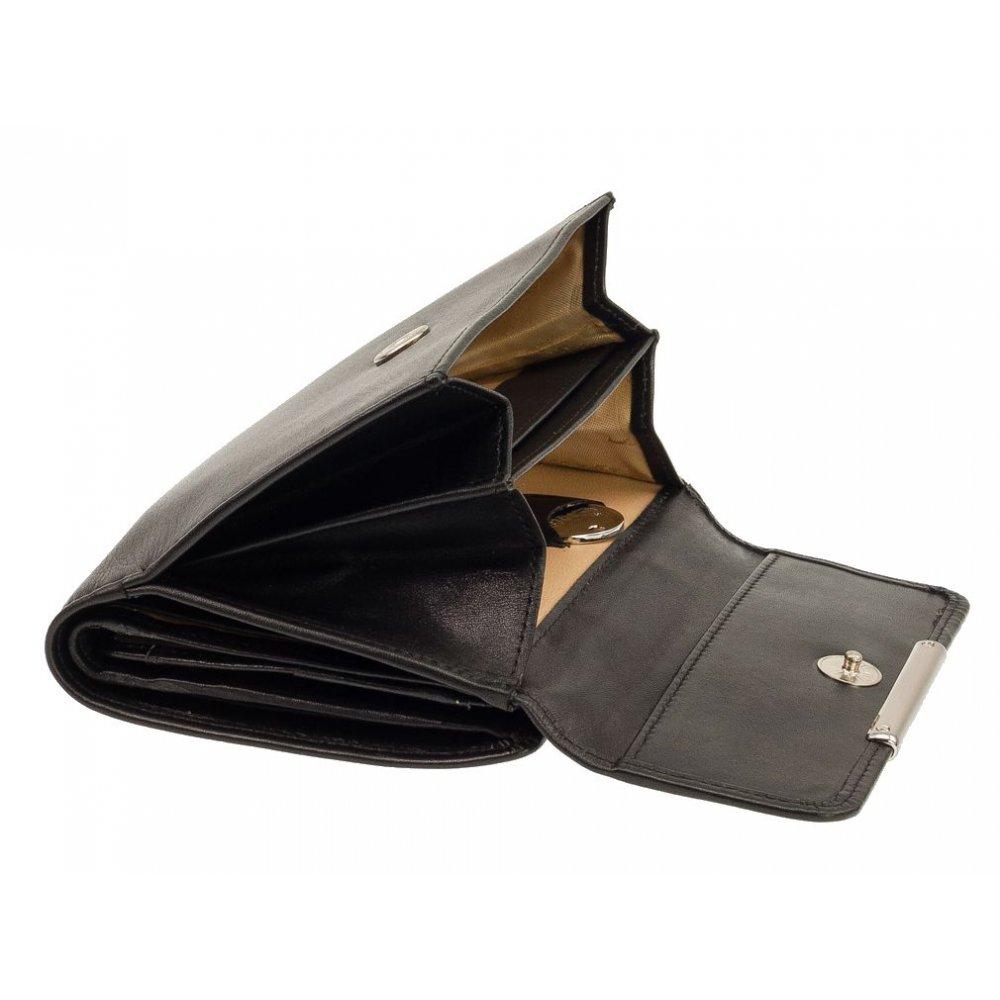 esquire damen geldbeutel helena 1320 50 schwarz rfid. Black Bedroom Furniture Sets. Home Design Ideas