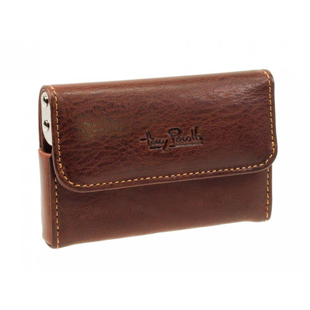 Braun Buffel 92466 Leather Travel Card Holder Black Card