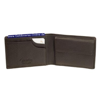 Esquire Deer, Mini Geldbörse aus Hirschleder 2203-09 Braun. Sehr weiches  Leder ...