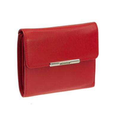 eb80e06910105 Esquire Damen Geldbörse HELENA 1220-50 Rot Leder RFID Schutz ...