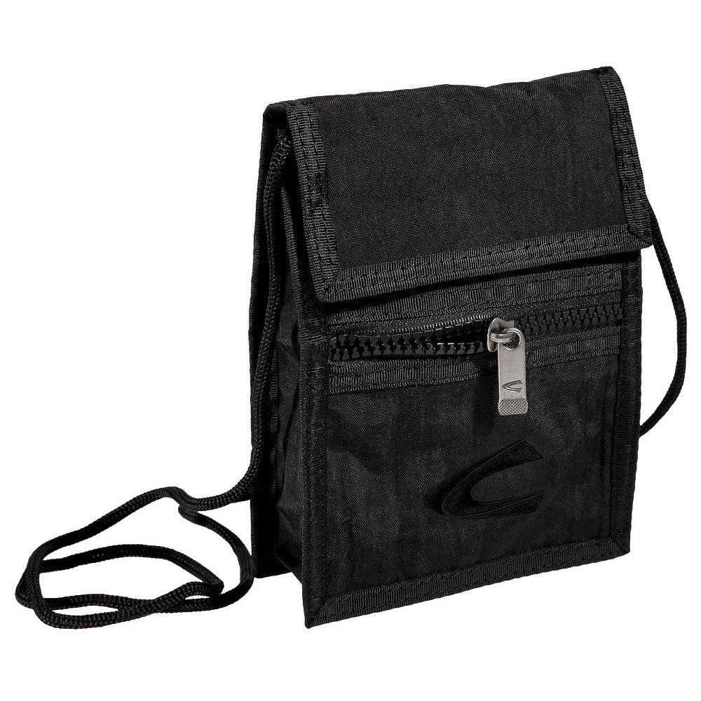 CAMEL ACTIVE Geldbörse Brustbeutel Brieftasche Portemonnaie Journey Schwarz NEU