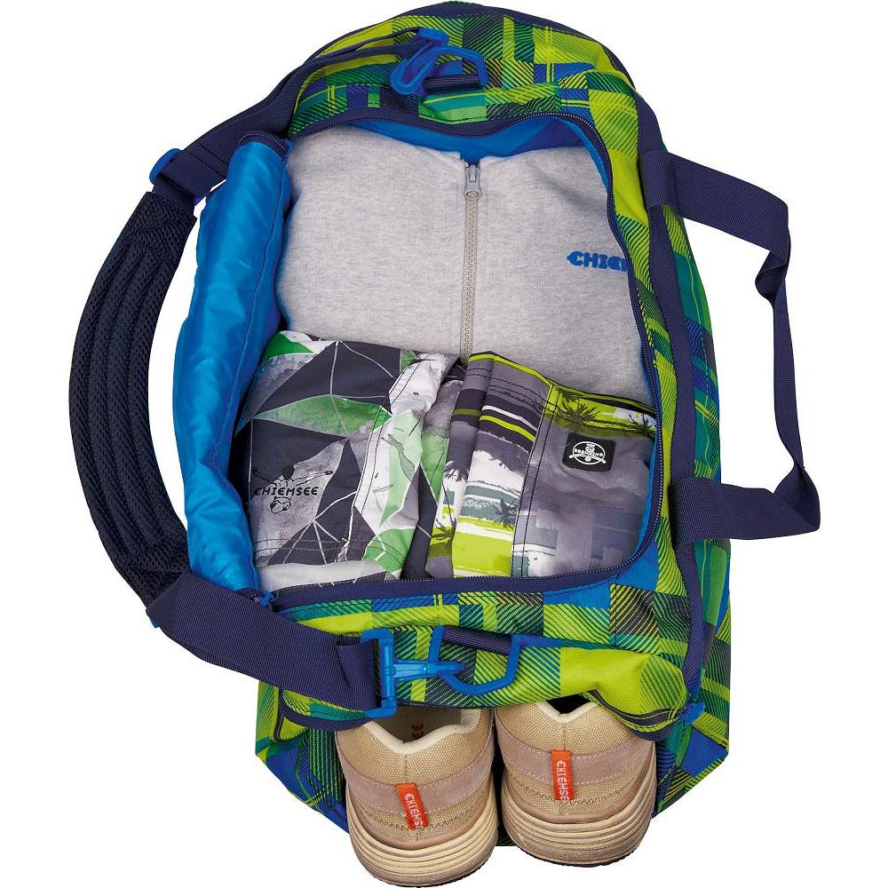f44ed1c81907c Chiemsee Matchbag Medium Sporttasche 5011007-L0502 GREAT CHECKER - G ...
