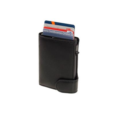 Geldbörse Kreditkartenetui TONY PEROTTI Green Vegetale TE//CC//3695 Orange RFID