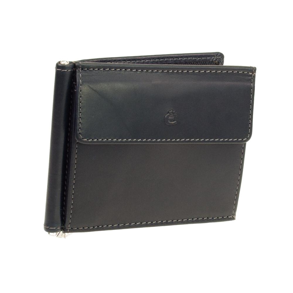 Geldbörsen & Etuis Dollar-clip Geldbörse Portemonnaie Mit Münzfach Büffelleder Herren-accessoires Neueste Kollektion Von Leder Dollarclip