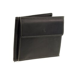 Esquire Dallas, Leder Dollarclip 2565-08 Schwarz...