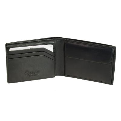 002fb636dac67 kleine Geldbörse Esquire New Silk Schwarz Minigeldbeutel Leder Portemonnaie  ...
