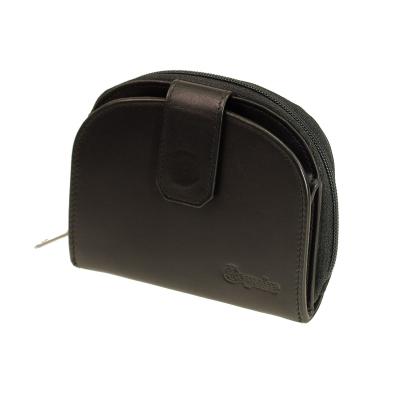 47b99f5e139e9 kleine Damenbörse mit Reißverschluss Esquire New Silk Schwarz Mini  Portemonnaie ...