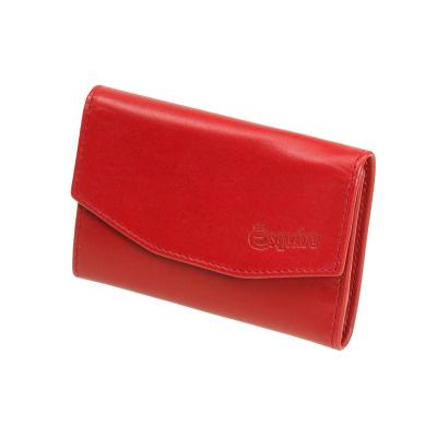 b9dc27f164fd3 rotes Schlüsseletui Schlüsseltasche mit Haken Esquire New Silk Leder  3970-02 Rot ...