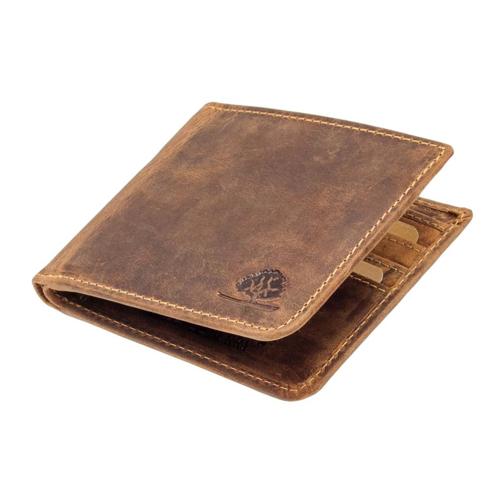 68fc03619dd9f Greenburry Vintage Leder Kreditkartenetui Brieftasche - Geldboerse ...