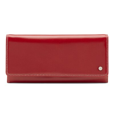 9adaf15f150c1d großes Damenportemonnaie Picard Porto Rot Geldbörse Geldbeutel Kalbleder ...