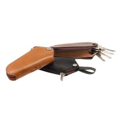 Schlüsselglocke TONY PEROTTI Vegetale Schlüsseltasche Braun Schlüsseletui