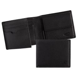 camel active Vietnam Jeans Wallet Geldbörse Black Schwarz Neu