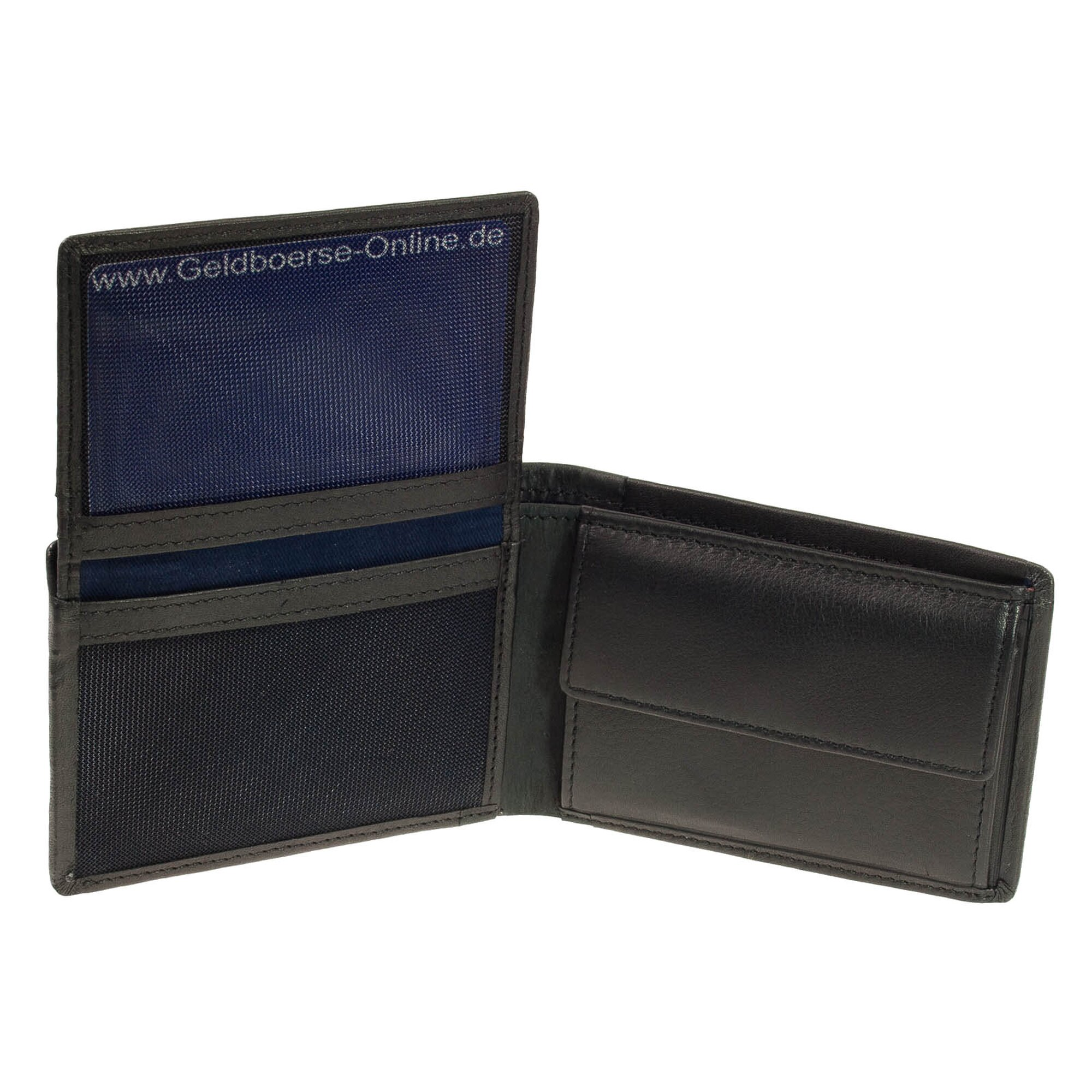 b541bc8060ca74 kleiner Geldbeutel Maitre Gerold bundenbach Minigeldbörse Schwarz - G,  29,95 €