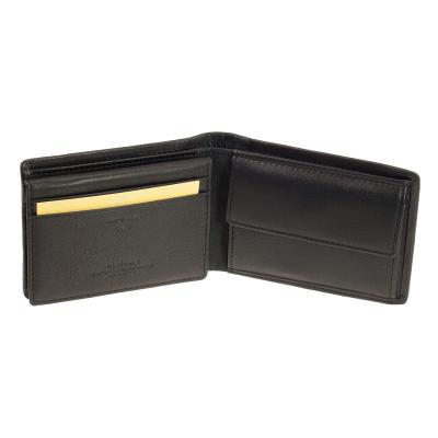 37e03c35ac3d15 kleiner Leder Geldbeutel Maitre Gerold bundenbach Mini Geldbörse Schwarz  RFID ...