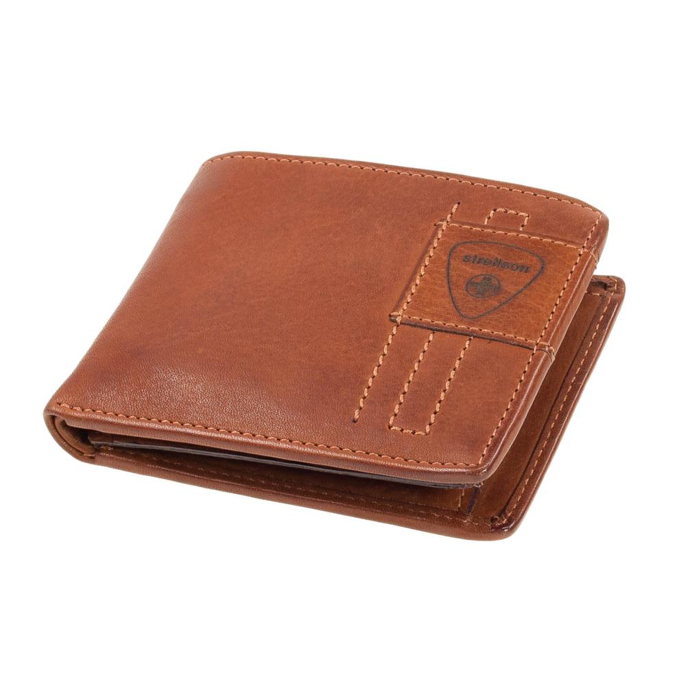 Geldbörse Geldbeutel Premium Leder Geldbörse Brieftasche Portemonnaie Schwarz H6