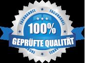 100% geprüfte Qualität