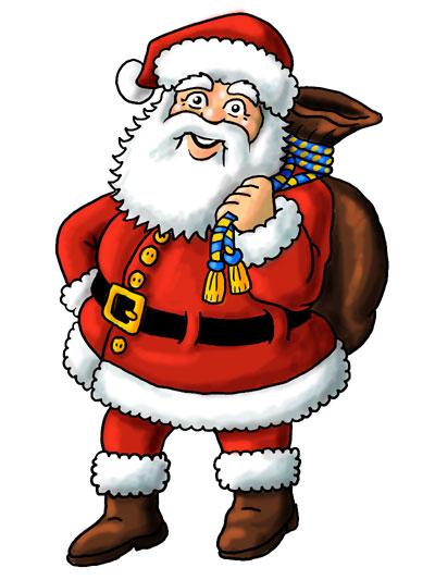weihnachtsmann Weihnachtsmanngarantie Geldboerse-Online Shop